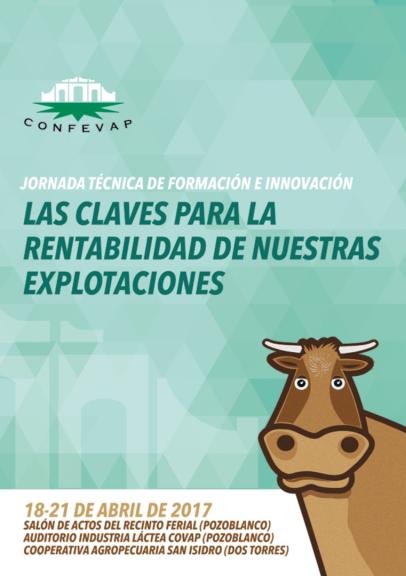 Las Jornadas Técnicas de Confevap tratarán la rentabilidad de las explotaciones ganaderas