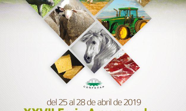 Cartel oficial de la XXVII Feria Agroganadera y XVII Feria Agroalimentaria del Valle de Los Pedroches